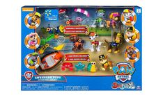 Doggy-paddle to adventure with the Lifeguard Pups! This set includes all your favourite PAW Patrol members! Suited in lifeguard gear, the pups are ready to s. Pup Patrol, Lifeguard, Jasmine, Action Figures, Xmas, Gifts, Character, 3 Friends, Casket
