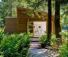 Beautiful garden space: Turnbull Griffin Haesloop Architects - Sebastopol Residence