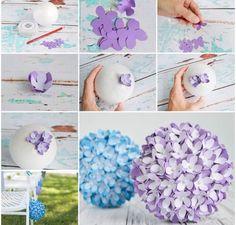 紫陽花の作り方
