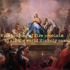 Happy pentecost sunday