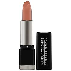 Make Up For Ever Rouge Artist Intense Lipstick in Matte Flesh   Highly-pigmented, matte, and long-lasting, if you want a big impact on your pout, this is the pick for you.