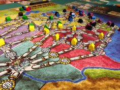 Boardgames; Power Grid; Photographer Tara Green
