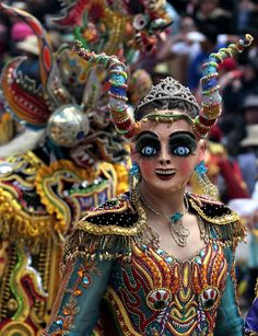 Carnival of Oruro in Bolivia