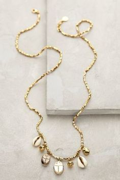 Anthropologie Nautical Charm Necklace  #anthrofave #anthropologie