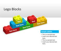 Free Lego Blocks PowerPoint template is a free lego PPT template slide design that you can download for presentations using the lego block styles