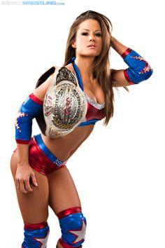 TNA Knockout Miss Tessmacher