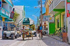 Middle street - San Pedro, Ambergris Caye, Belize