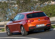 2016 BMW M135i Back View