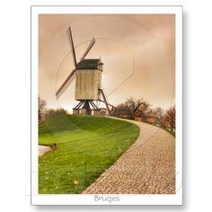 Bruges Postcard from Zazzle.com