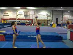 Teaching gymnasts to use their feet to punch | Swing Big! Gymnastics Blog