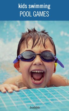 Swimming pool games for kids are a great way to spend the summer vacation hours. From bobbing to splashing, here are fun water games for the swimming pool. Pool Games To Play, Swimming Pool Games, Games To Play With Kids, Pool Party Games, Children Swimming Pool, Cool Swimming Pools, Water Games For Kids, Keep Swimming, Cool Pools