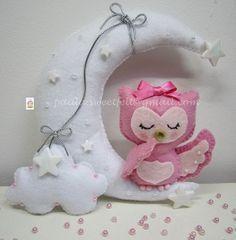 ♥♥♥ Ssssshhhh.... hora de fazer óó... by sweetfelt  ideias em feltro, via Flickr