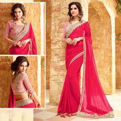 Bollywood Designer Latest Pakistani Saree Indian Ethnic Party Wear Saree Blouse #Shoppingover #Saree