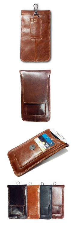 US$17.79 + Free shipping. Phone Bags, Cellphone Bags, Men Bag, Leather Bag, Waist Bag, Card Holders.Material:Cowhide. Color: Black,Brown,Dark Brown,Coffee.Magnetic Buckle. Suitable for most kind of phones. Leather Craft, Leather Bag, Dark Brown, Black And Brown, Tactical Wear, Phone Charger Holder, Samsung Accessories, Waterproof Phone, Brown Coffee