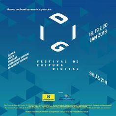 Agenda Cultural RJ: DIGI – FESTIVAL DE CULTURA DIGITAL , dias 18, 19 e...
