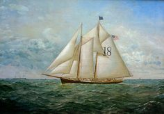 pilot schooner painting conrad freitag