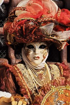 fascinated with these mask & costumes ... people in Venice wears during Carnival time