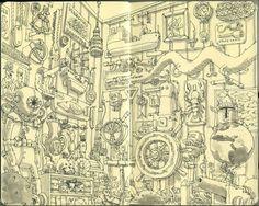 Incredible Moleskine Sketches (15 drawings) - My Modern Metropolis