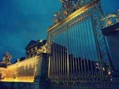 Gates of the Palace of Versailles - Paris