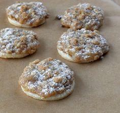 The Food Pusher: Dutch Apple Pie-lettes (Apple Pie Cookies)