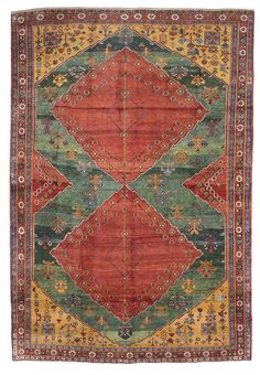 10'3 x 14'2 Persian Vintage Tribal Large