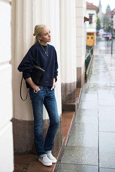 Straight Jeans bei Ellen Claesson