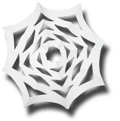 Halloween Cut Out Shape Webs