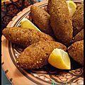 les kebbéh sont des boulettes de boulgour farci d'une viande hachée épicée. Ils sont d'origine libanaise. Il vous faut: 125...