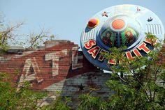 Satellite Coffee Historic Route 66 Albuquerque New Mexico Nob Hill Central Avenue Street Art