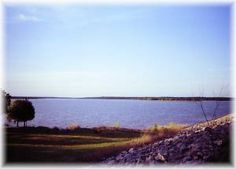 Lake Thunderbird, OK - Blue water, oak trees and rolling hills charm millions of Norman visitors each year. Oklahoma Lakes, River, Mountains, Nature, Rivers, Nature Illustration, Off Grid, Mother Nature, Bergen