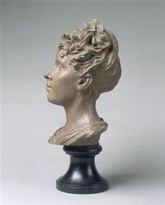 Portrait de Louise Claudel par Camille CLAUDEL (1864-1943). Palais des Beaux-Arts, Lille. Photo : Hervé Lewandowski.