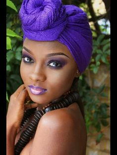 Beautiful African.