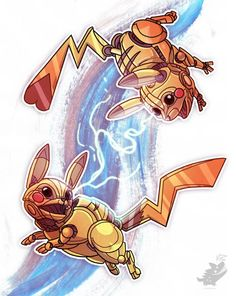 Robotic Pikachu