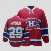 NHL Montreal Canadiens  29 Ken Dryden CCM Red CH Jersey Old Price  114.99  Sale 9b35ec28f