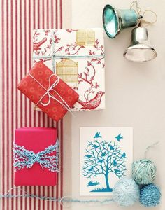christmas wrapping 25 A few Christmas wrapping ideas (32 photos) #giftwrapping #emballagecadeau