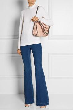 Stella McCartney   Mid-rise flared jeans   NET-A-PORTER.COM