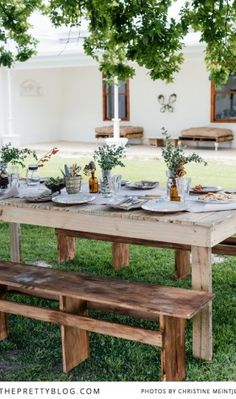 Summer Christmas Lunch with the Family | {Styled Shoots} | The Pretty Blog