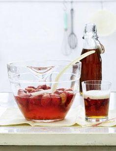 Rezept: Altbierbowle mit Ingwer