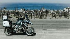 Chile, Ocean coast Jan 2016, BMW R1200GS LC