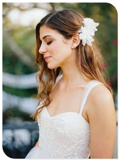 - Tips For a Great Hair + Makeup Trial Run Miami Wedding from Ozzy Garcia Photography – www. Wedding Hair Flowers, Wedding Hair And Makeup, Flowers In Hair, Hair Makeup, Wedding Dresses, Wedding Veils, Flower Hair, Makeup Trial, Miami Wedding