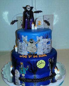 Hotel Transylvania cake!