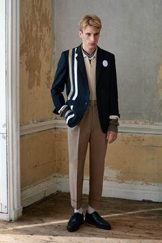 Pringle of Scotland | Menswear - Spring 2017 | Look 14