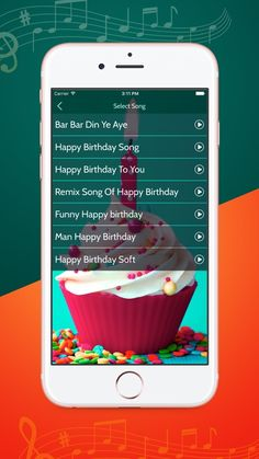 Record Birthday Song With Your Name by Jaydeep Sardhara Happy Birthday Song Download, Happy Birthday Wishes Song, Happy Birthday Cake Photo, Happy Birthday Man, Happy Birthday Wishes Cards, Late Birthday, Singing Happy Birthday, Birthday Frames, App Store