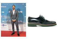 Los #zapatos de Angel Infantes de nuevo en la alfombra roja.  Esta vez en la premier de la película #CuerpoDeÉlite con el director#joaquinmazon y el actor #jordisanchez.