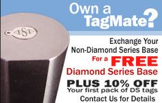 *** The TagMate Marking System is the premiere method for marking Jewelry Tags with maximum precision. [about US 200.00 - try this? Find reviews; looks great.)
