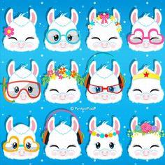Llama Clipart, Art Clipart, Alpacas, Baby Ninja Turtle, Baby Girl Clipart, Llama Face, Llama Birthday, Birthday Clipart, Llama Alpaca