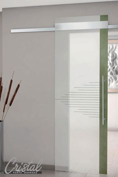 porta lavanderia in vetro satinato | ristrutturazione tra moderno ... - Porte In Vetro Decorate Moderne