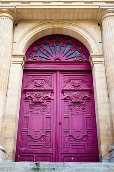 16 x large art print - Door Art, your choice - French architecture - Fine art travel photography - Vintage beauty - Wall art, Decor Cool Doors, Unique Doors, The Doors, Entrance Doors, Windows And Doors, Garage Doors, Doorway, Front Doors, Porte Design