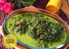 Indonesianfoodculture's: Gulai Daun singkong tumbuk Palak Paneer, Ethnic Recipes, Food, Meal, Essen, Hoods, Meals, Eten