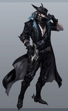 Concept of the Gunslinger (name not final) male, one of three new classes coming in Aion 4.0! Submit designs for his pistols and cannons to LeaveYourLegacy@ncsoft.com, up to November 15!: